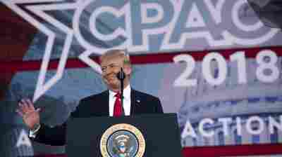 Trump Addresses CPAC, Calling Again To Arm Some School Personnel