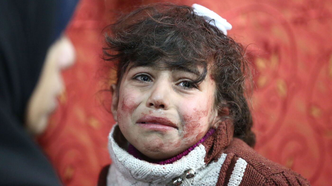 '400,000 People...Live In Hell On Earth': Bombing Of Damascus Suburbs Kills Hundreds