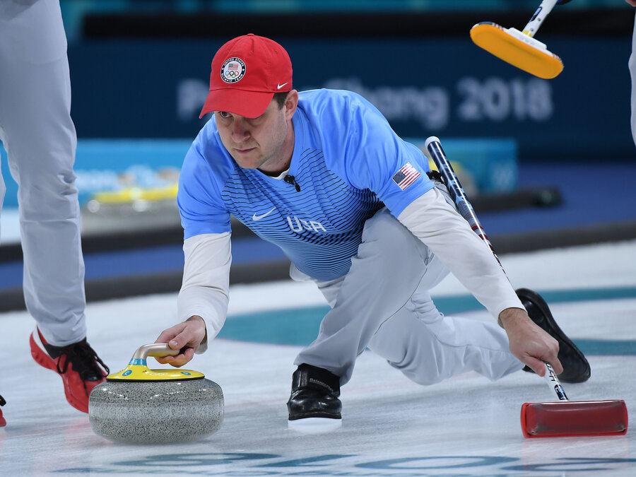 Image result for Olympic 2018 usa men curling