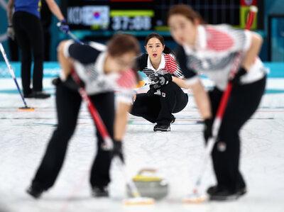 South Korea's 'Garlic Girls' Win Silver Medal In Curling, Sweden Wins Gold