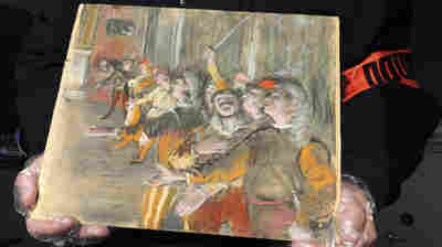 Customs Agents Search A Bus Near Paris — And Discover A Stolen Degas Painting