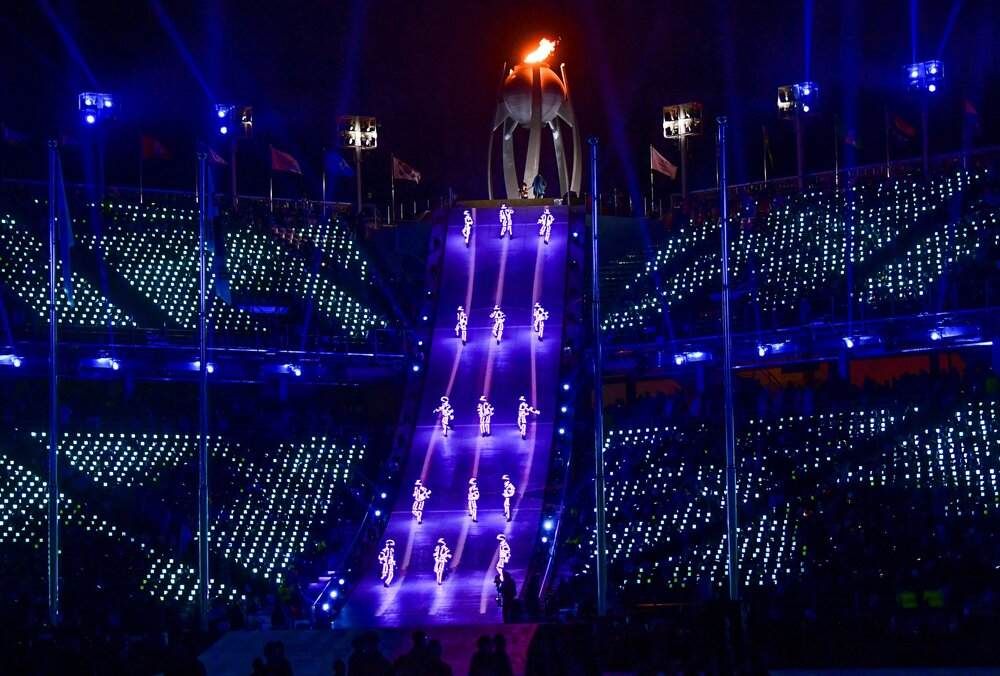 Highlights Of The Pyeongchang Olympics Closing Ceremony In Photos