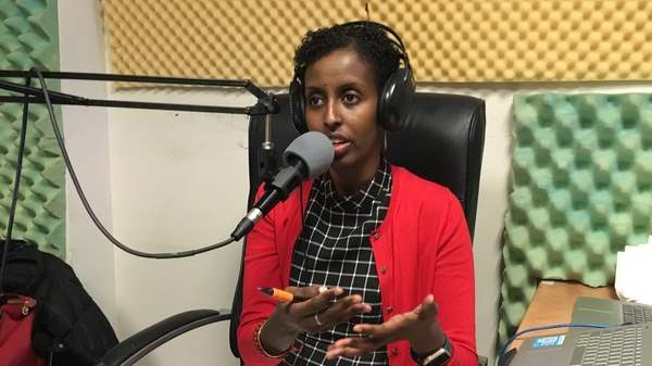 Amira Adawe has a radio show, Beauty-Wellness Talk, which is a platform where the Somali community can talk openly about skin lightening without fear of being outed or stigmatized.