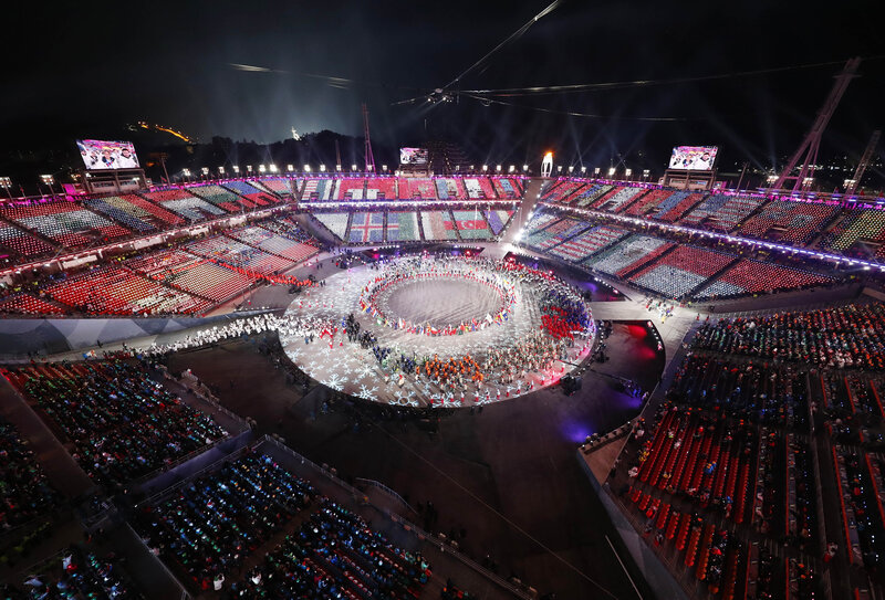 8ca4dbf762d2 Pyeongchang Olympics  Closing Ceremony Ends Biggest Winter Games Ever