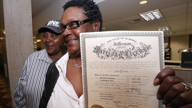 Code forbids solemnize same sex marriage