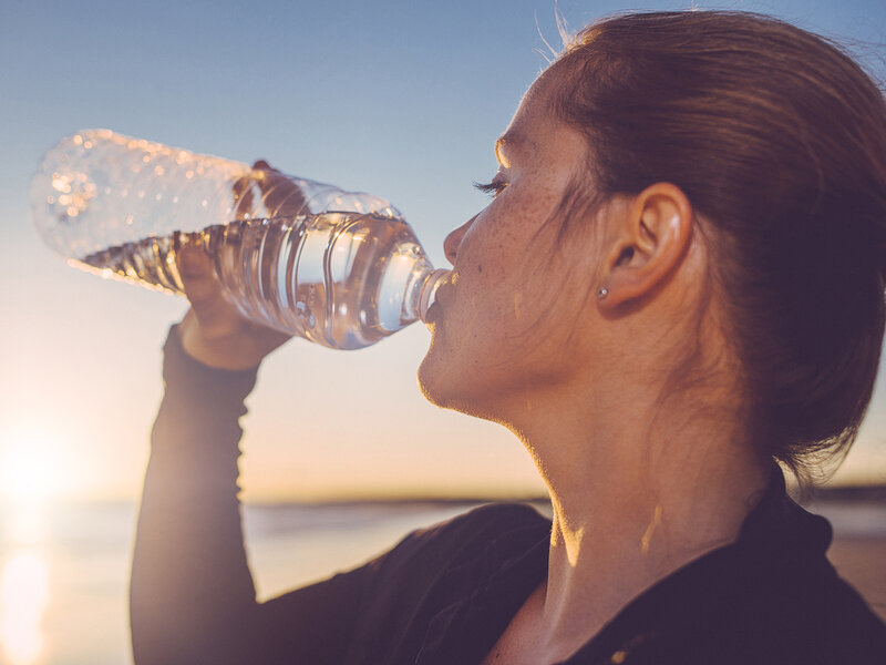 brain signals to body when it s had enough water not so for food