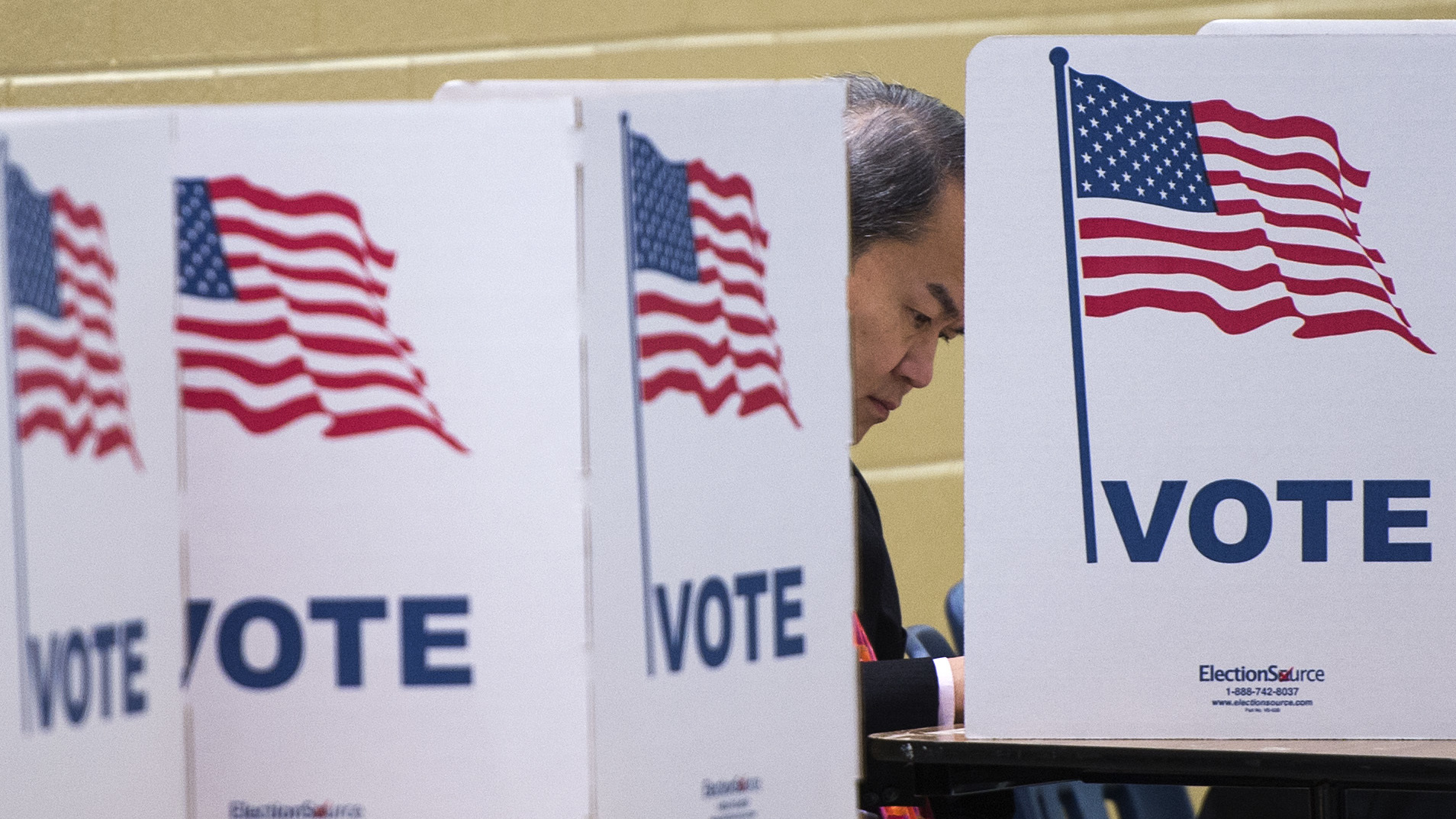 Polling Places Are Supposed To Be Politics Free Could That Change Npr