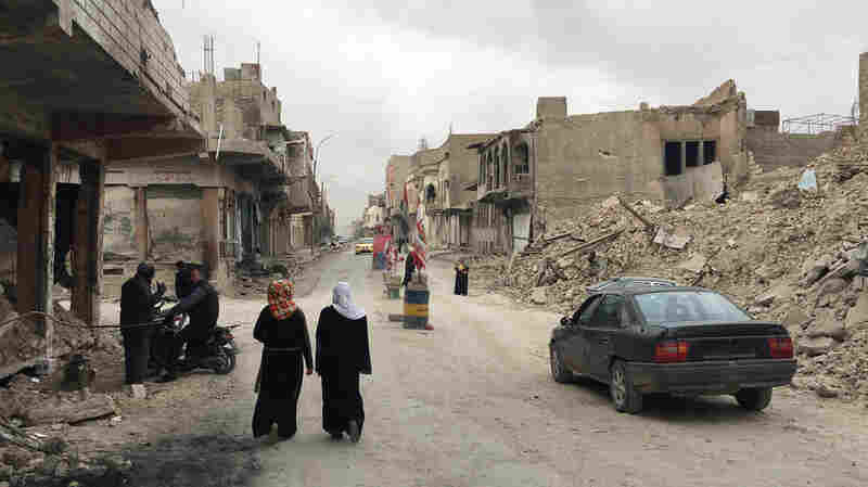 Months After ISIS, Much Of Iraq's Mosul Is Still Rubble