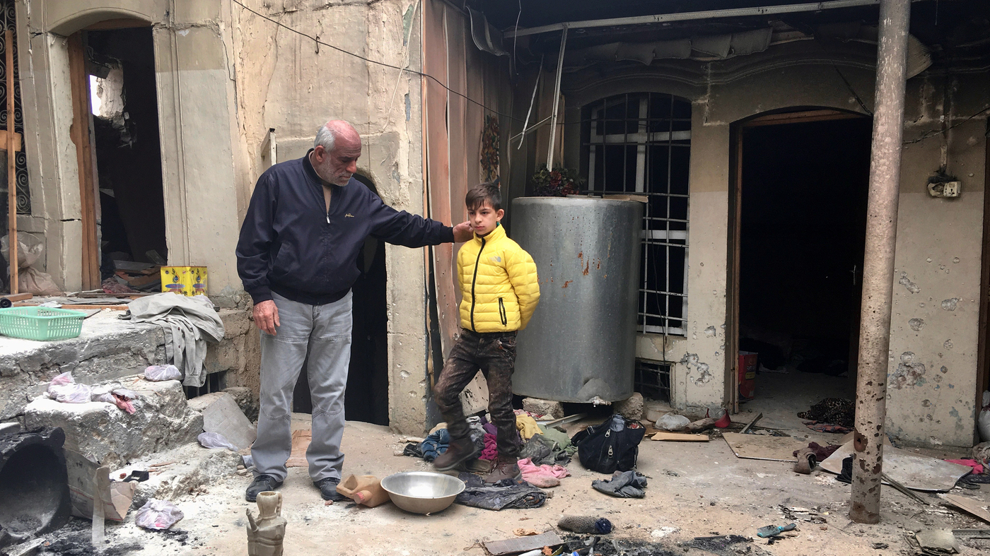 Months After Isis Much Of Iraqs Mosul Is Still Rubble Parallels Enlarged Version Electricity Usually Comes To Our Homes From The Power Npr