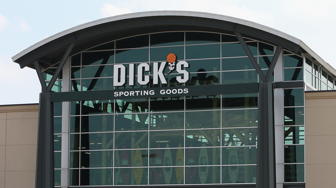Dick's Sporting Goods Ends Sale Of Assault-Style Rifles, Citing Florida Shooting