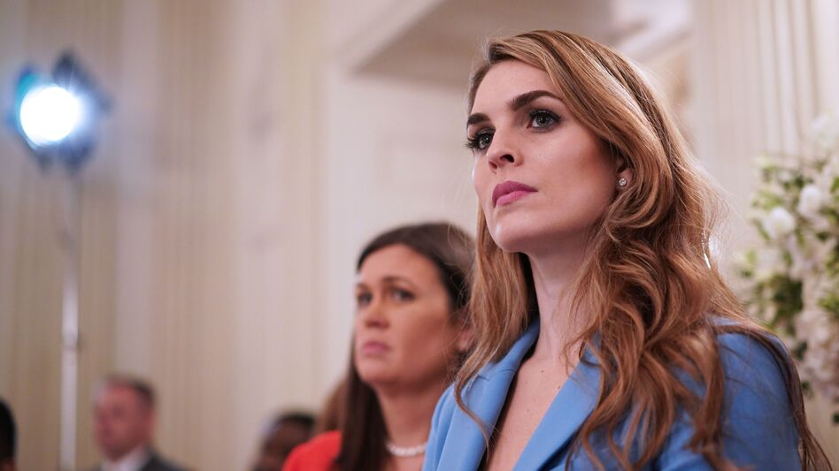 White House communications director Hope Hicks is resigning, the White House announced on Wednesday. (Mandel Ngan/AFP/Getty Images)