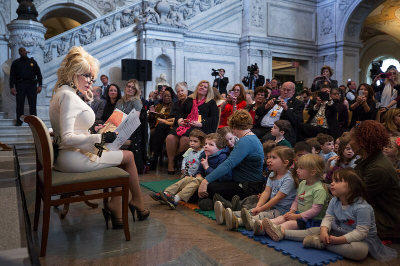 Dolly Parton S Imagination Library Delivers 100 Millionth Book Npr