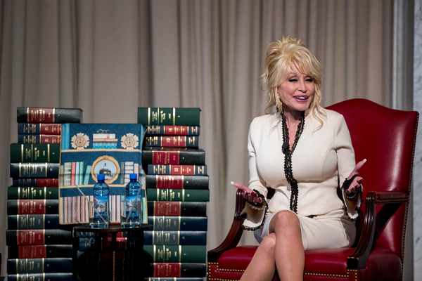 Parton donated a copy of Coat of Many Colors to the permanent collection of the Library of Congress to mark the delivery of the 100th million book by her nonprofit Imagination Library.