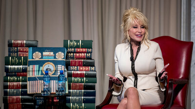 3f1f4fbef285 Dolly Parton Gives The Gift Of Literacy  A Library Of 100 Million Books