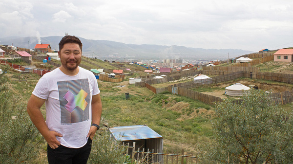 Odgerel Gamsukh has a started a company to create a green community in the unplanned and polluted sprawl outside of Ulaanbaatar.