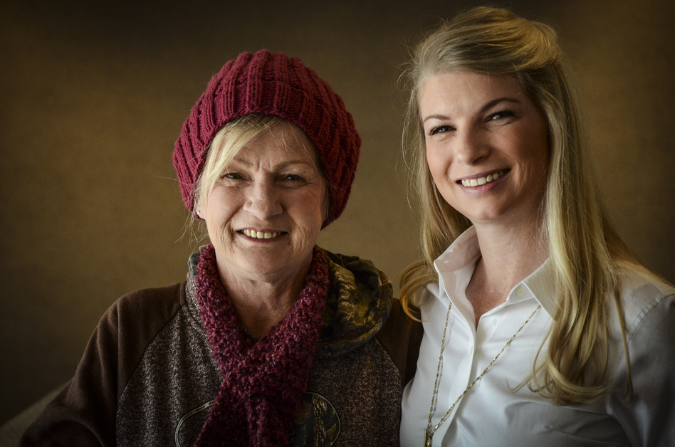 Colorado State Rep. Brittany Pettersen (right) is advocating for more treatment money for opioid addiction, in part because of the substance abuse struggles of her mother, Stacy (left). (Nathaniel Minor/CPR News)