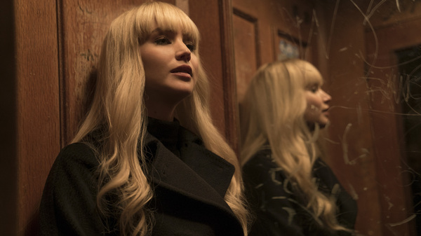 Jennifer Lawrence stars in Red Sparrow.