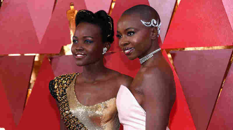 On The Oscars Red Carpet, The Clothes Tell The Stories