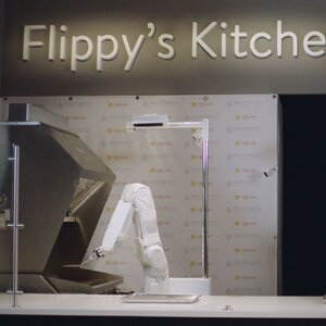 'Flippy' The Fast Food Robot (Sort Of) Mans The Grill At Caliburger