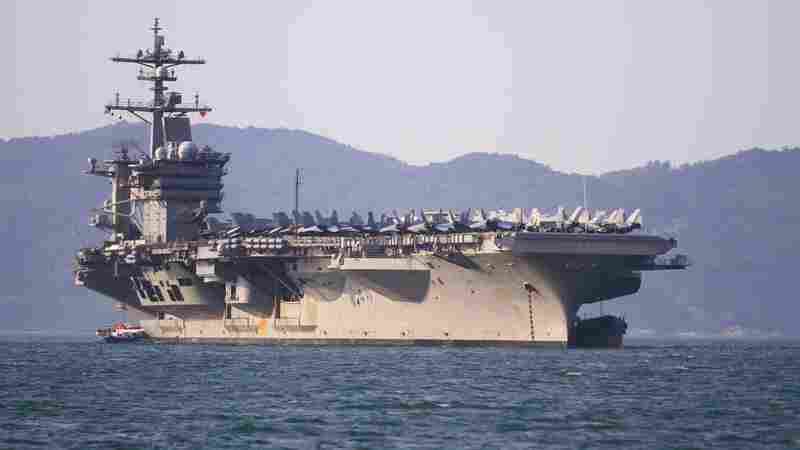 A U.S. Aircraft Carrier Anchors Off Vietnam For The First Time Since The War