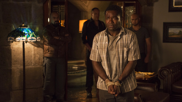 Harold Soyinka (David Oyelowo) finds himself in some unexpected trouble on his business trip to Mexico in Gringo.