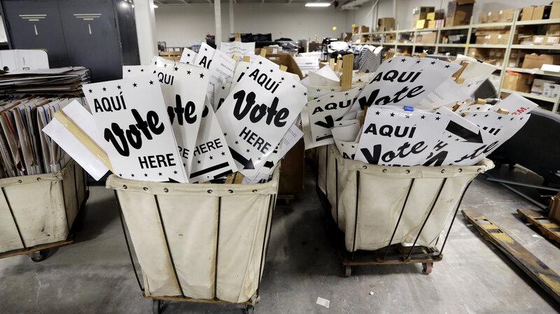 Texas Primary Results: Democrats Surge, But Progressive