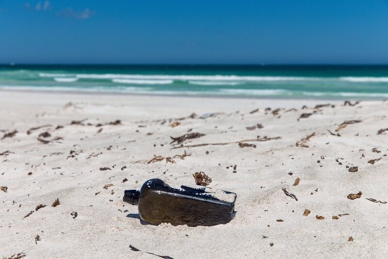 Bottle Notes Eye In Sky >> Oldest Known Message In A Bottle Found In Australia The Two Way Npr