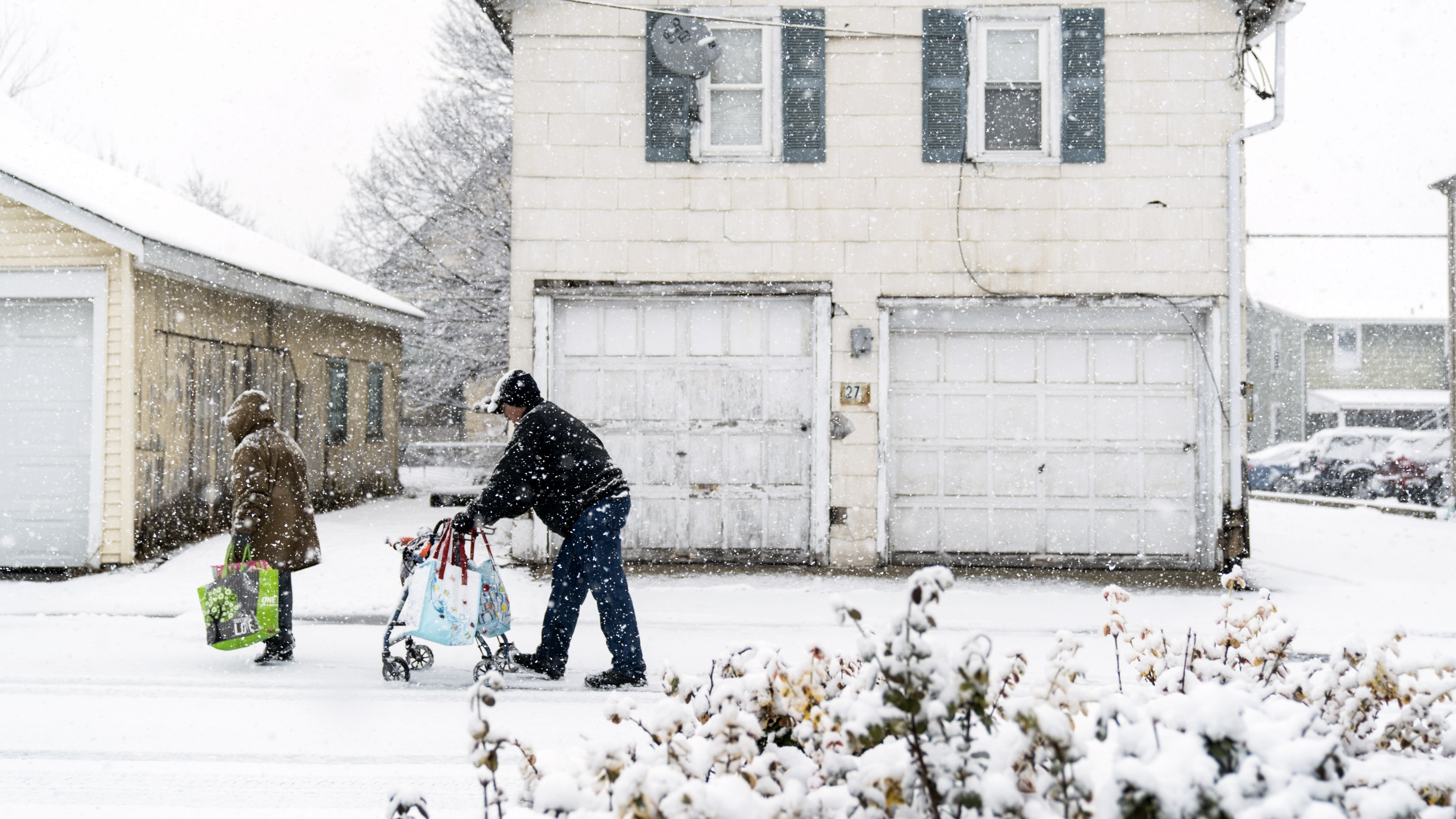 Snowy nor'easter threatening northeastern United States