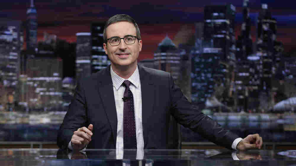 Fresh Air Weekend: John Oliver; Transgender Activist Sarah McBride