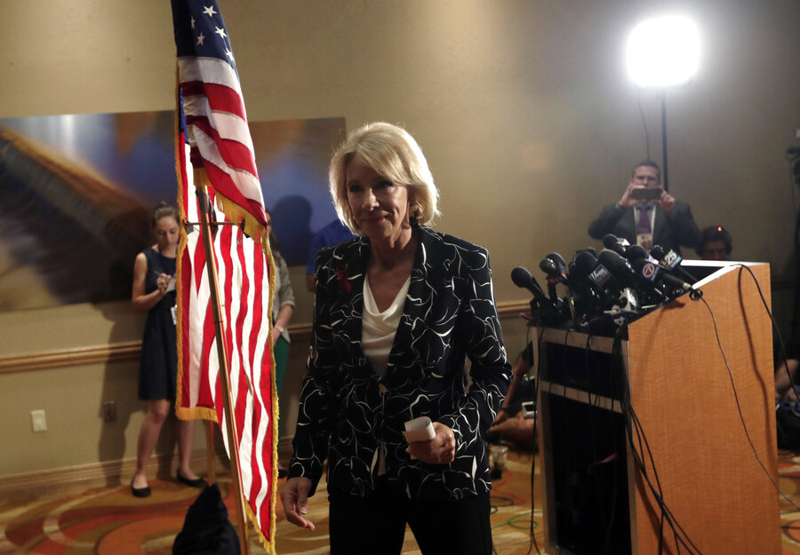 West Virginia Teachers Win; DeVos Gets Pushback