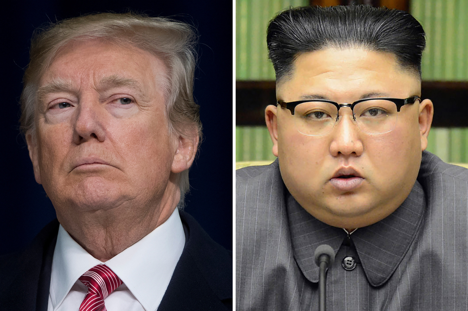 President Trump has agreed to meet with North Korean leader Kim Jong Un by May. (Saul Loeb/AFP/Getty Images)