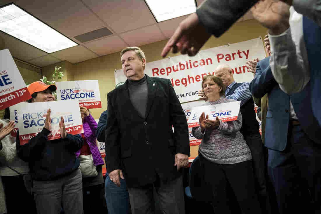 Trump campaigs in Pennsylvania congressional race