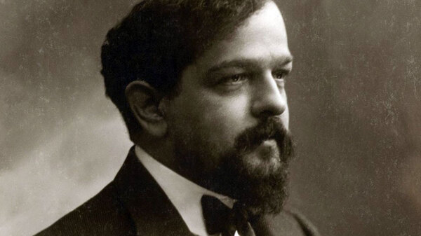 Claude Debussy, photographed ca. 1908. He died 100 years ago on March 25, 1918.