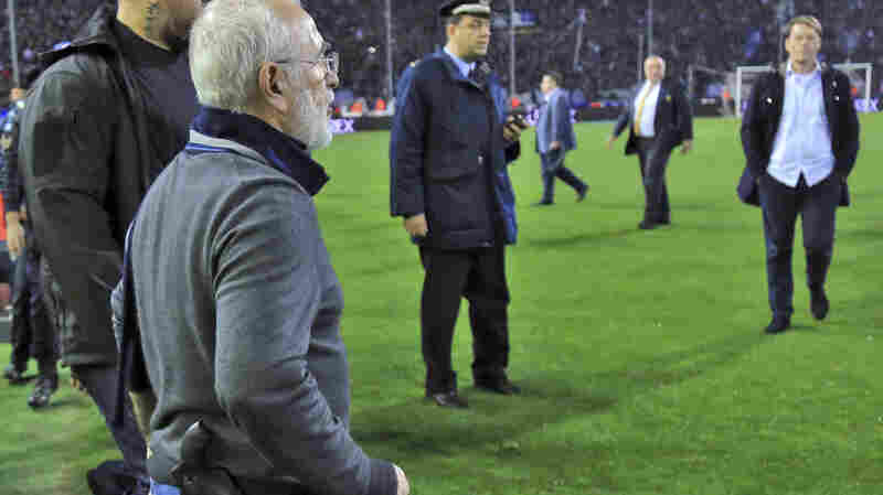 Greece Suspends Soccer League After Team Owner Invades Field With Gun