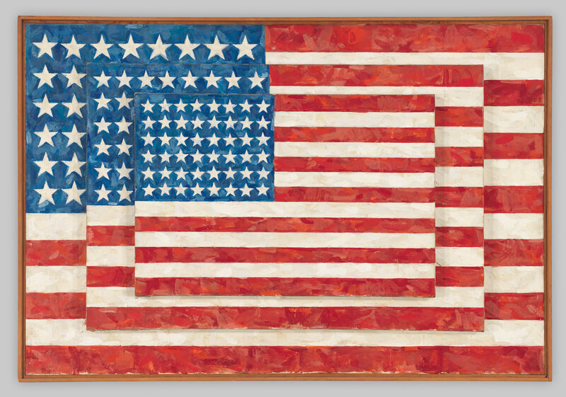 Jasper Johns Three Flags From 1958 Robert Gerhardt And Denis Y Sus Whitney Museum Of American Art C Licensed By VAGA New York