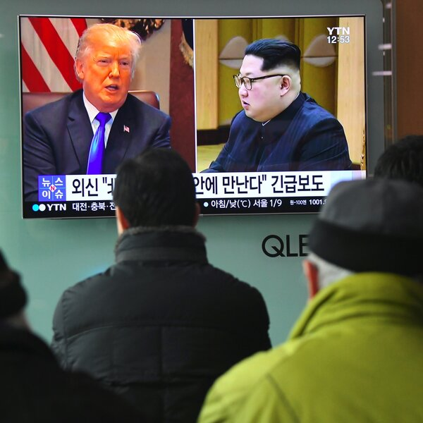 The View From Seoul On Trump-Kim Meeting: It May Never Happen, But It's Worth A Try