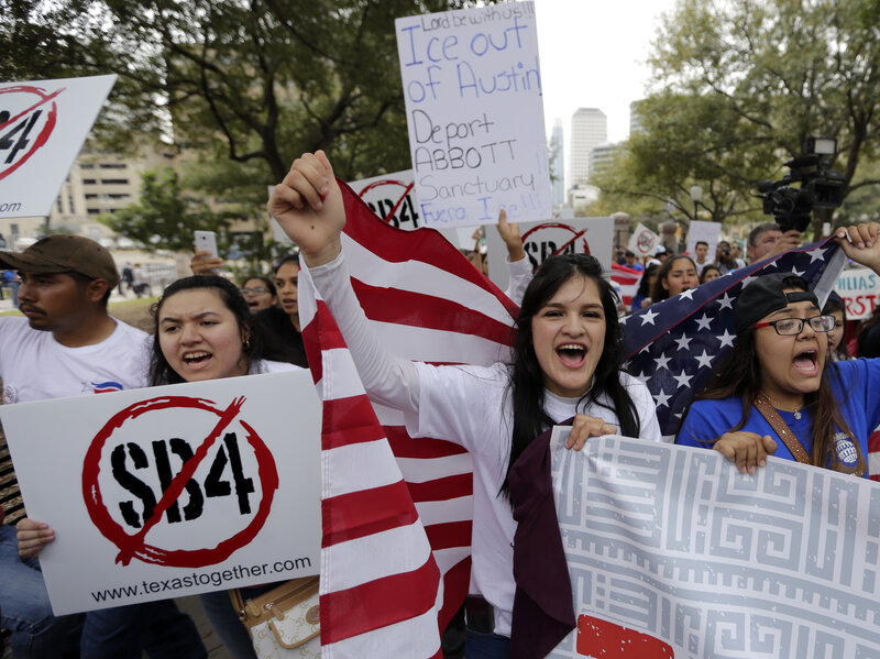 Npr Texas City Legal More Anti-sanctuary The Battles Court On Stage Law Ruling For Sets Two-way