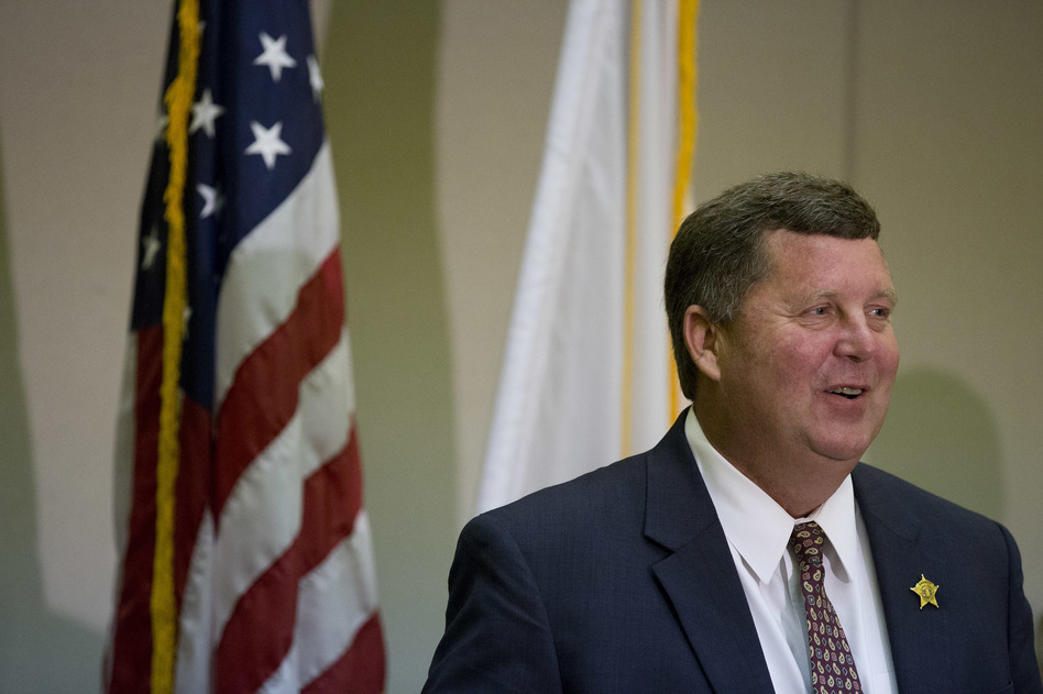 Etowah County Sheriff Todd Entrekin took home as personal profit more than $750,000 that was budgeted to feed jail inmates, which is legal in Alabama, according to state law and local officials. (Brynn Anderson/AP)