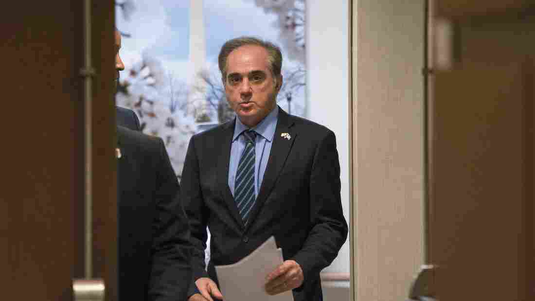 Shulkin calls Washington 'toxic' the day after Trump ouster