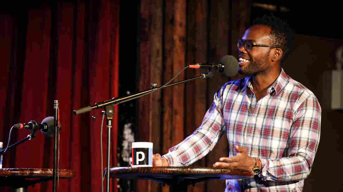 William Jackson Harper appears on Ask Me Another at the Bell House in Brooklyn, New York.