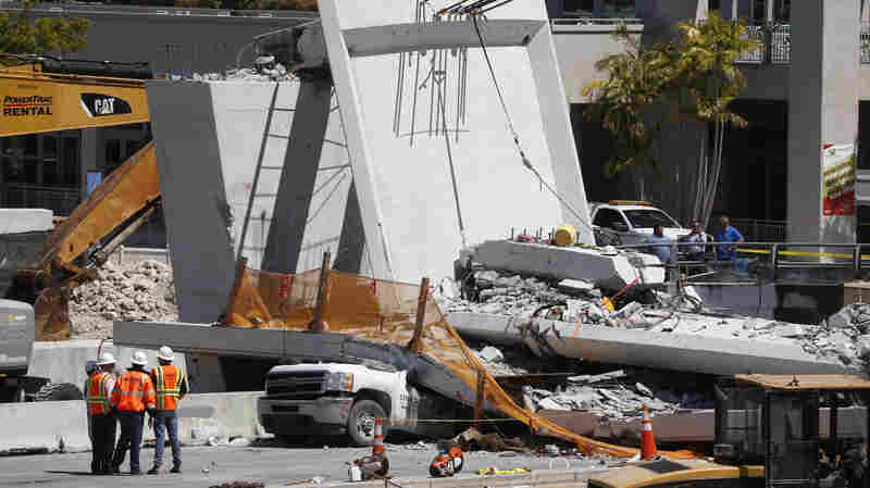 State Officials Say They Received A Warning About Cracks Before Bridge Collapse