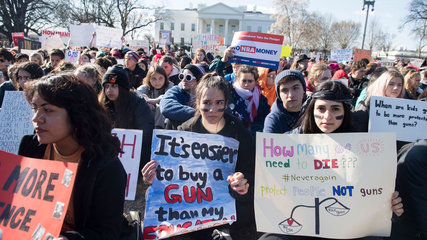 Are You Participating In The 'March For Our Lives'?