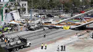 Pedestrian Bridge Collapse Death Toll Rises To 6 In Miami-Dade County