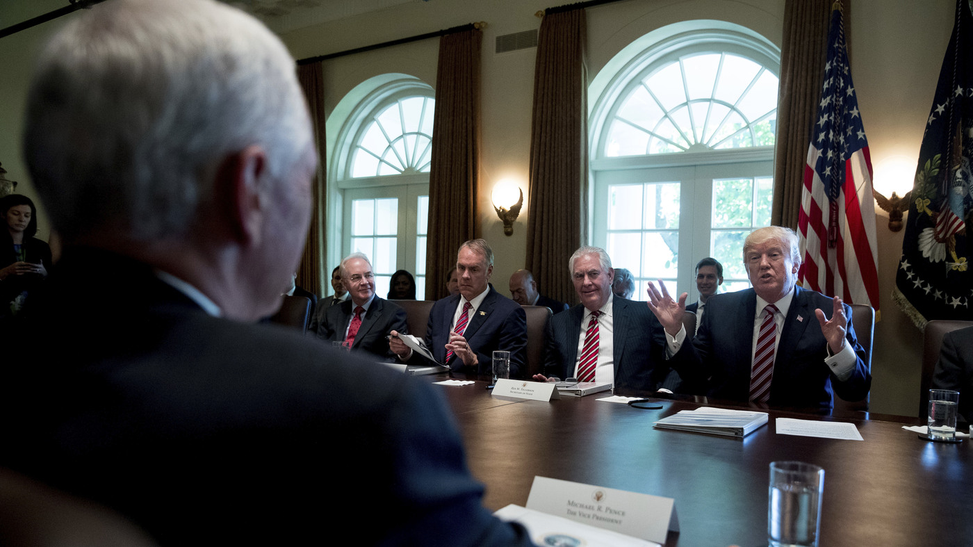 Chart Trump S Cabinet Turnover Is Record Setting Npr