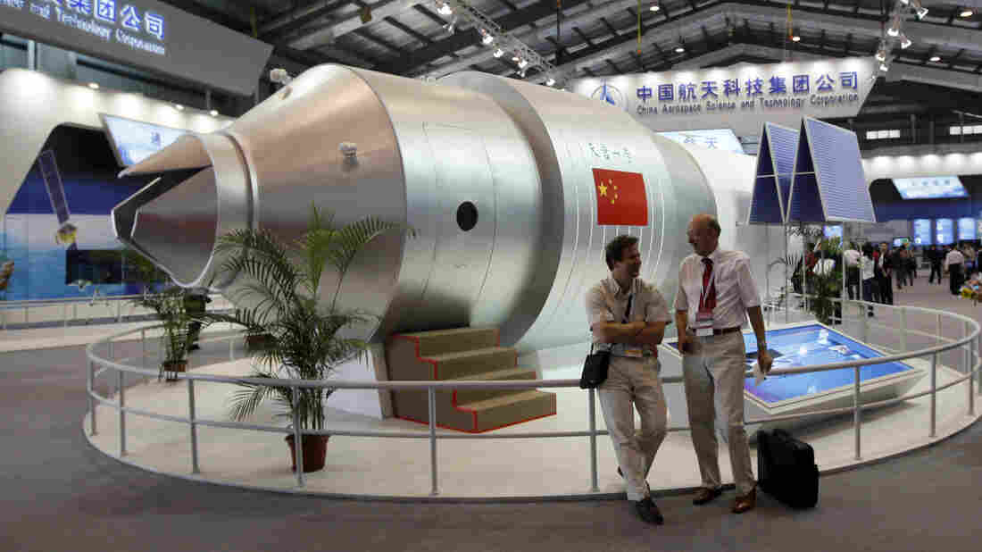 A Chinese Space Lab Will Soon Fall From The Sky. Where It Lands, No One Knows