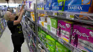 More States Move To End 'Tampon Tax' That's Seen As Discriminating Against Women