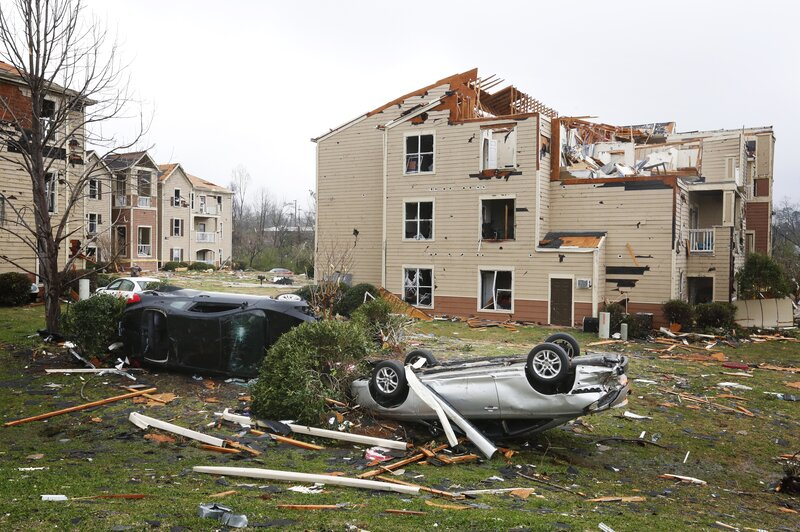 Severe Storms, Tornadoes, Rip Through U.S. Southeast : The Two-Way ...