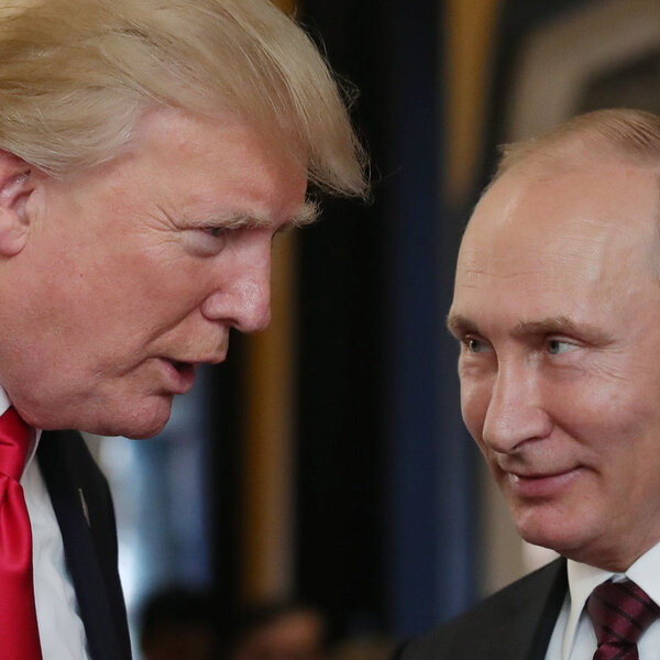 President Trump Congratulates Putin On Re-Election