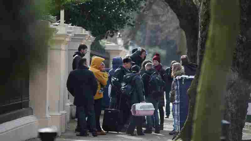 23 Russian Diplomats Fly Home, Expelled From U.K. Amid Poisoning Dispute