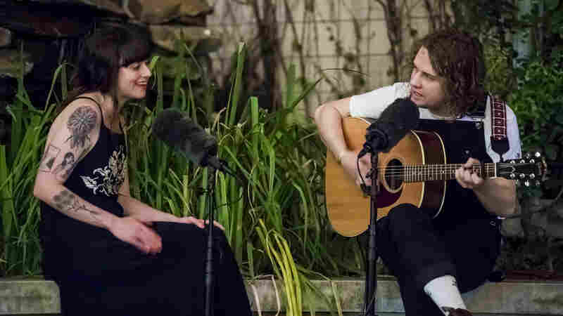 In Downtown Austin, Katie Crutchfield Joins Kevin Morby On 'Downtown Lights'